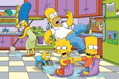 Casal recria cozinha de Os Simpsons em sua própria casa