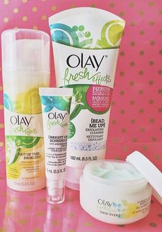 Look fresh for spring with Olay Fresh Effects.