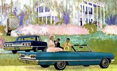 1963 Chevrolet Impala - Promotional Advertising Poster