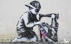 Banksy New Mural @ London