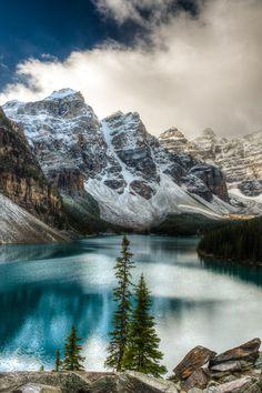 Morraine Lake, Alberta, By Tyler Ingram.