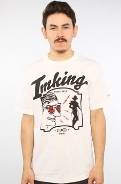The Lurk Tee in White XL