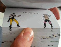Parting Shot: Mortal Kombat Flip Books Right An 'Injustice' (Get It?)