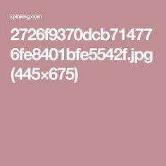 2726f9370dcb714776fe8401bfe5542f.jpg (445×675)
