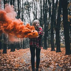 halloween pumpkin orange smoke bomb photography A marriage is really a ceremony where two or Halloween Fotos, Photo Halloween, Halloween Pictures, Fall Halloween, Halloween Party, Happy Halloween, Halloween Season, Halloween Tumblr, Halloween Photography