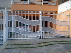 Iron Gates, Iron Doors, Metal Driveway Gates, Stainless Steel Gate, Steel Gate Design, Grades, Grill Design, Porches, Door Design
