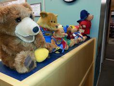 #HerkimerBasloeLibrary Children's librarian Miss Nancy loves her bears! Come visit them at 245 N. Main St. Herkimer.