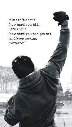 Rocky Balboa Motivational Words iPhone 6 Plus HD Wallpaper