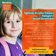 Eğitimde En İyiler Ödülleri Kurumsal Kategori 7: Sosyal Sorumluluk