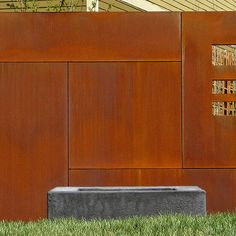 Corten Steel Screen Design, Pictures, Remodel, Decor and Ideas - page 3