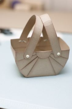 Handmade basket tutorial - useful for Easter displays