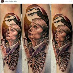 Hannibal Tattoo by Neil Dransfield