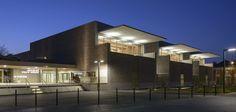 Maison des Arts et de la Vie Associative, Epernay, Champagne Ardennes Giovanni Pace Architecte
