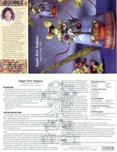 Jo Sonja Project Card: Betty Jo Evans - Apple Tree Topiary