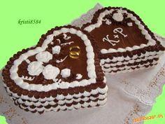 Penová torta s penovými ružičkami aj s postupom + malý trik pri šľahaní Sweet Desserts, Muffin, Breakfast, Cakes, Morning Coffee, Cake Makers, Kuchen, Muffins, Cake