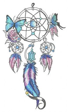 Grand Sewing Embroidery Designs At Home Ideas. Beauteous Finished Sewing Embroidery Designs At Home Ideas. Butterfly Embroidery, Learn Embroidery, Machine Embroidery Patterns, Embroidery Ideas, Dream Catcher Drawing, Dream Catcher Tattoo Design, Tattoo Sonne, Dreamcatcher Wallpaper, Embroidery Techniques