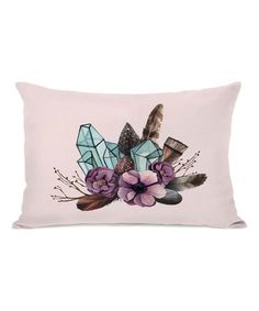 Another great find on #zulily! Crystal Bunch Rectangular Throw Pillow #zulilyfinds