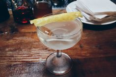 Fifty-Fifty Martini: vodka, dry vermouth, yuzu bitters