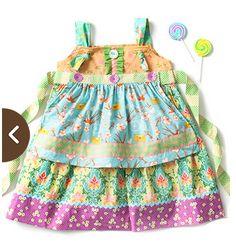 Funnel Cake Knot Dress (Wonderful Parade)