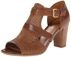 Naturalizer Women's Draft Dress Sandal, Saddle, 4.5 M US Naturalizer http://