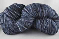 Indigo Dragonfly DK Polwarth Silk – 75% Polwarth wool/25% Silk – Light DK weight. 750yds.