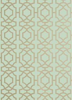 Alston Trellis Wallpaper from Thibaut
