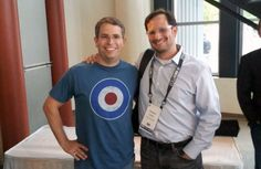 Andrew Lipstein snapped a picture with Google's Matt Cutts yesterday the day before at SMX Advanced in Seattle.  Matt Cutts decided to wear a t-shirt with a target or bullseye on it.