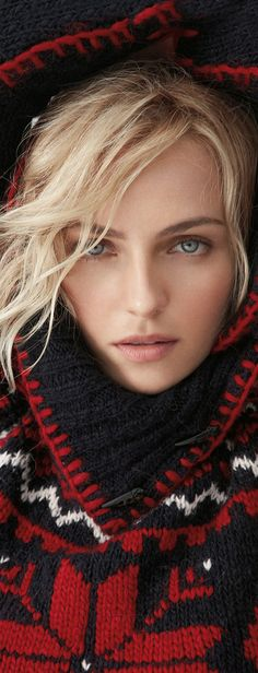 Valentina Zelyaeva for Ralph Lauren Holiday