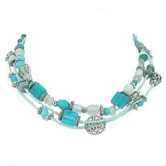 Necklace turquoise and silver – Jc & Crew Turquoise Necklace, Amp, Silver, Accessories, Jewelry, Fashion, Moda, Jewlery, Jewerly