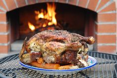 #ISOvenRecipe - Wood Fired Roast Chicken = Yum!