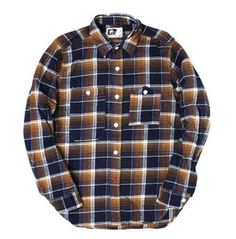 One of Engineered Garments' most iconic shirts returns in a classic plaid twill. Based off a Big Yank workshirt from the 1920's the simple work shirt looks as great as ever in one of its original fabrics. As always, it layers well and looks great on its own. $195