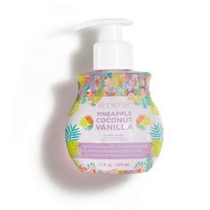 The perfect cleansing lather, in fragrances to match the rest of your Scentsy Body products. Pairs perfectly with our Lotion! Ride the wind alongside coconut, pineapple blush and blue fig. Inspired by the Skin fragrance, No. Scented Wax Warmer, Liquid Hand Soap, Wax Warmers, Pineapple Coconut, Shops, Hand Cream, Natural Oils, Body Wash, Lotion