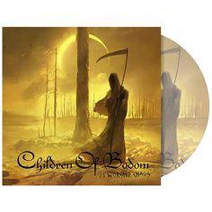 """L'album dei #ChildrenOfBodom intitolato """"I Worship Chaos"""" su vinile picture."""