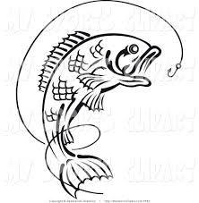 Картинки по запросу рыба на крючке клипарт