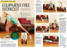 Health & Fitness UK: Equipment-Free Workout