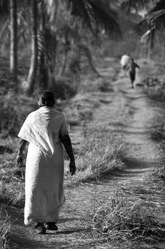 """""""One Step at a Time""""  Agriculture College, Bangalore, India  © Cinthia Gibbens-Stimson, All Rights Reserved."""