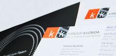 Corporate Design // Andrea Zinecker // für die Kanzlei Kuzbida in Bensheim