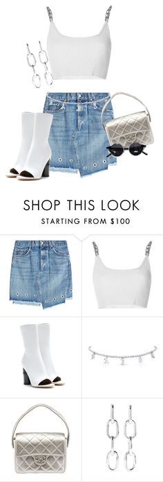 """""""Untitled #522"""" by chanelkillla ❤ liked on Polyvore featuring rag & bone, Alexander Wang, Acne Studios, Chanel and House of Holland"""