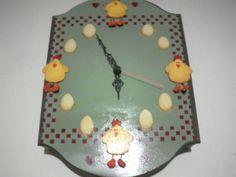 orologio con zampette  di gallina 3D :D