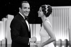 Jean Dujardin and Bérénice Bejo. The Artist, Hazanavicius