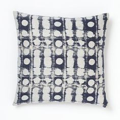 west elm's pillow sale features modern throw pillows, accent pillows, and pillow covers. Find modern accents and add comfortable style to any room. Textures Patterns, Fabric Patterns, Indigo Furniture, Furniture Sale, Modern Furniture, Contemporary Pillows, Blue Home Decor, Modern Throw Pillows, Silk Pillow