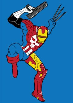 Sper Heros | Le Super Héros ultime sur un T-Shirt