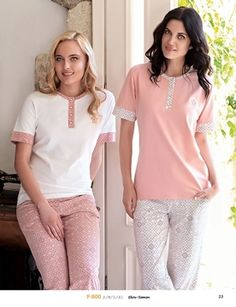 Fc Fantasy F-800 Bayan Pijama Takım Pijamas Women, Cute Sleepwear, How To Dress A Bed, Summer Pajamas, Womens Pyjama Sets, Fashion Night, Comfortable Fashion, Nightwear, Night Gown