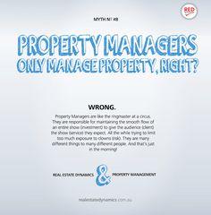 #propertymanagemet myth number 8