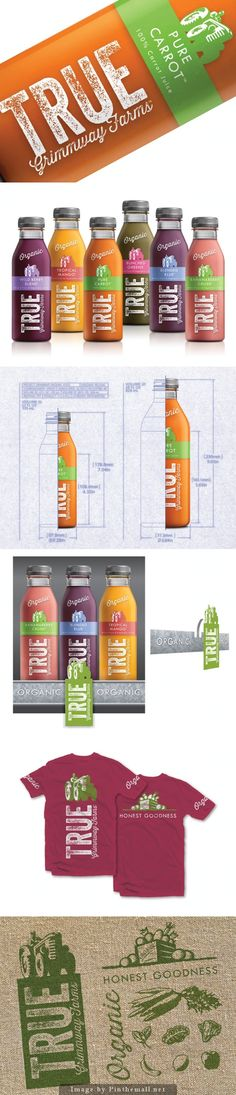 True Organic Juice by McLean Design