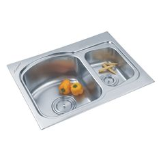 Buy Double Sink 320 A in Sinks through online at NirmanKart.com
