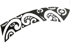 polynesian-tattoo-design-suitable-for-position-behind-ear-foot-wrist.jpg (479×295)