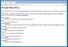 Web pública faz aniversário no dia 30 de abril. Criada no CERN, tecnologia simples transformou a internet.