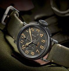 Zenith Heritage Pilot Café Racer - Мотостиль от Зенит | Luxurious Watches