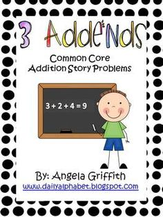 practice with 3 addends